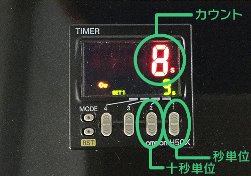 テルプ自動運転画面